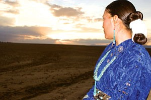 """Miss Navajo"" Copyright © Idris Rheubottom. Courtesy photo."