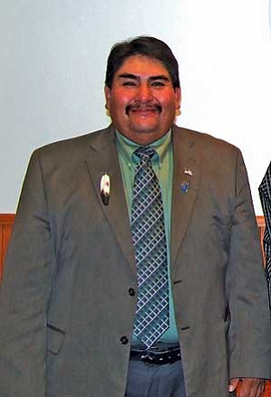 Todd Honyaoma Sr., former Hopi Tribal Vice-Chairman (NHO file photo).