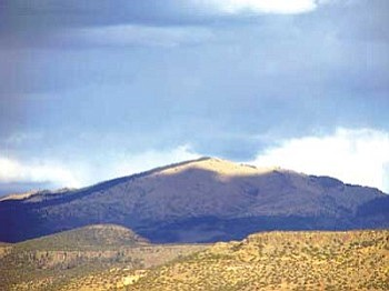 Mount Taylor, located near Grants, N.M., will not be mined for uranium soon.