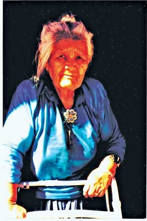 A Navajo elder. The Centers for Disease Control (CDC) reports that over 15 percent of Native Americans age 20 and older have diabetes (Courtesy photo)