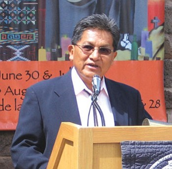 Hopi Tribal Chairman Ben Nuvamsa (NHO file photo).