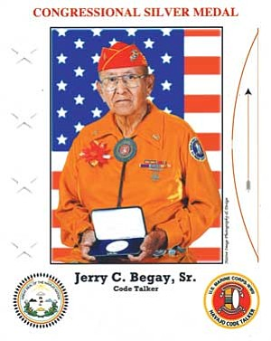 Navajo Code Talker Jerry C. Begay Sr. (Courtesy photo)