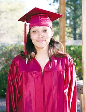 """Delvina Saganitso of Flagstaff says family emergencies have prolonged her education, but after earning her GED she's ready to continue working toward her dream of owning or co-owning her own business. """"This is an accomplishment,"""" she said. """"I plan to continue my education at CCC and earn a degree in construction management."""" The 23-year-old currently is involved in the YouthBuild program learning green building skills. YouthBuild is a partnership with the college and the Coconino County Career Center (CCC courtesy photo)"""