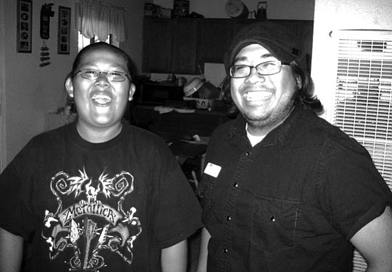 <i>Courtesy photo</i><br> Big Brother Frank Alvillar Jr. (right) and Little Brother Shawn have been matched in BBBSF's GEAR UP program since April.