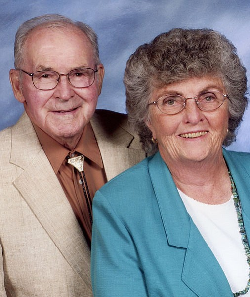 Keith and Carm Staker have been married for 60 years