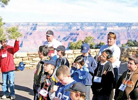 Tax credit money helps pay for educational field trips such as this Bradshaw Mountain Middle School sixth grade trip to the Grand Canyon in 2005.<br> Courtesy Photo