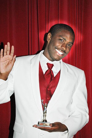 Kalif Reid bested his fellow contestants by one point, and now bears the title of Mr. Bradshaw 2009.<br>  TribPhoto/Cheryl Hartz