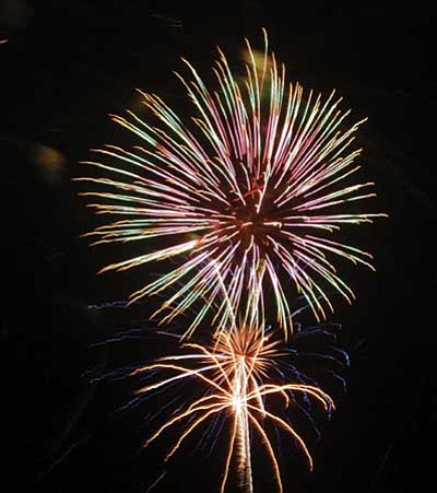 PV will have fireworks this year, but some restrictions apply at park.<br> File Photo/Heidi Dahms Foster