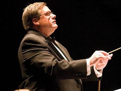 Prescott Valley resident Paul Manz, founder of the Prescott POPS Symphony, will receive the Jeff Ferris Volunteer of the Year Award from Northern Arizona University Alumni Association on Friday.<br> Courtesy Photo