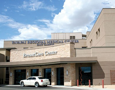 The new BreastCare Center at Yavapai Regional Medical Center East Campus is open and offers state-of-the-art imaging, ultrasound, and biopsies for women and men.<br> TribPhoto/Sue Tone