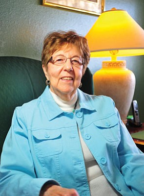 Joan Walker of Prescott Valley survived two bouts of leukemia through the help of more than 300 blood and platelet transfusions.<br> Photo courtesy Les Stukenberg