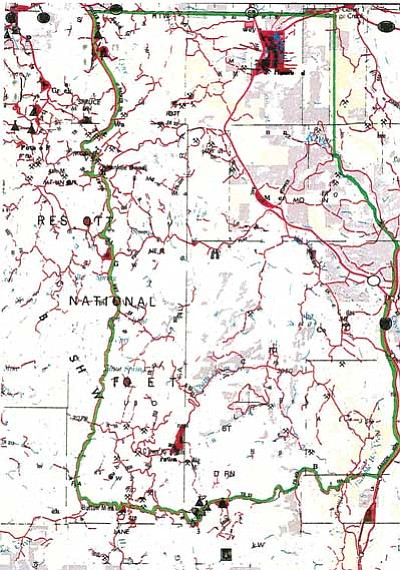 Map above shows boundaries of the re-activated Big Bug Mining District, as of May 24, 2013.<br> Courtesy Map