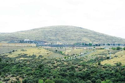The Town of Prescott Valley plans to add 180 acres of open space by acquiring 20 acres behind Sam's Club and 156 acres above the Liberty Kia dealership from shopping center developer Kitchell Development Co.<br> Photo courtesy Les Stukenberg/The Daily Courier