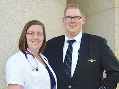 Mr. and Mrs. Dan Glenn
