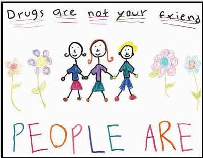 MATForce's 2015 Youth Poster contest grand prize winner in the grade K-6 category was Ava Byrnes (above), a 7-year-old student from Coyote Springs Elementary School in Prescott Valley. The grand prize winner in the grade 7-12 category was Danil Pelmenev, a 17-year-old student from Red Rock High School in Sedona.