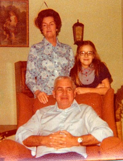 """That's my mom Jane and my dad George. I'm the short one. (And yes, there were plenty of """"George and Jane of the Jungle"""" jokes in my house!)<br /><br /><!-- 1upcrlf2 -->Courtesy photo"""