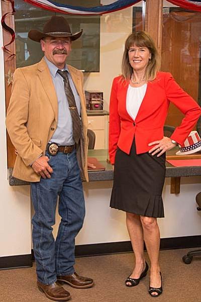 Yavapai County Sheriff Scott Mascher and County Attorney Sheila Polk