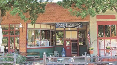 The new Flour Stone Bakery & Cafe is open for business in the historic Mayer business block on Central Avenue.<br /><br /><!-- 1upcrlf2 -->