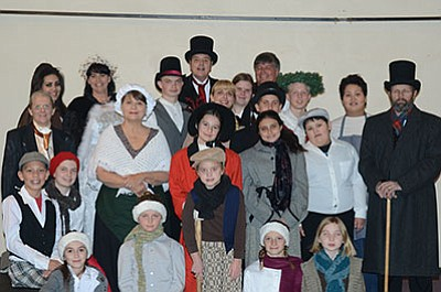 Lonesome Valley Playhouse is performing Scrooge starting this weekend. (Courtesy photo)