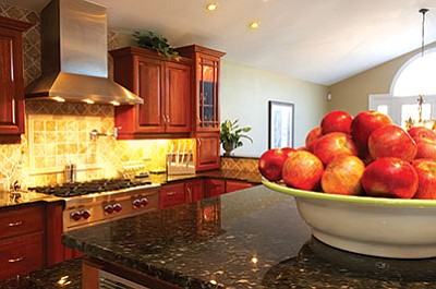 Many homeowners are starting to experiment in the kitchen, trying new colors and materials. Instead of granite, people are turning to quartz or even recycled glass to make their kitchens more personable. (Metro Creative)