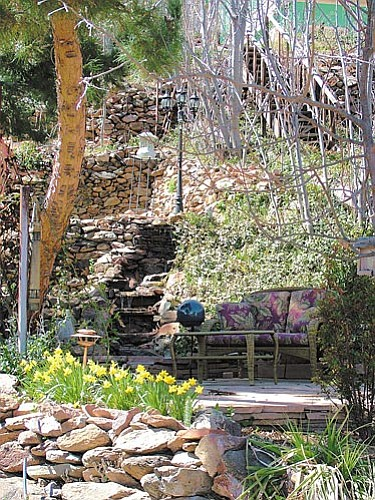 The Jerome Garden Tour gives visitors a unique opportunity to walk beyond the tourist attractions and peek into the beautiful gardens that grow on Jerome's Cleopatra Hill.