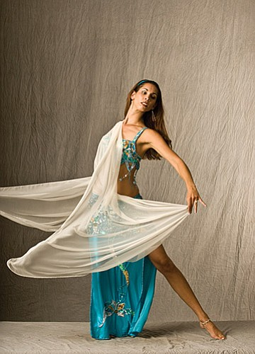 Photo by John Running<br> Belly Dancing with Holly is among the free classes offered during the Art of Movement celebration.