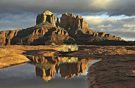 Kim Hoshal's iconic image of Cathedral Rock will be previewed at the Spirit Art Gallery May 2 during First Saturday Art Walk.