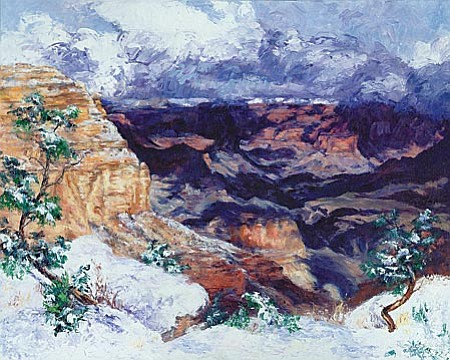 Mary Brown's Winter Splendor, at Kinion Fine Art.