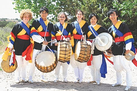 The Power Drum group will play Samulnori (four types of ancient drums) in a traditional way.