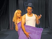 """Canyon Moon Theatre has a history of hit shows, like audience favorite """"Maybe Baby, It's You,"""" featuring Shondra Jepperson and Jeff Masters."""