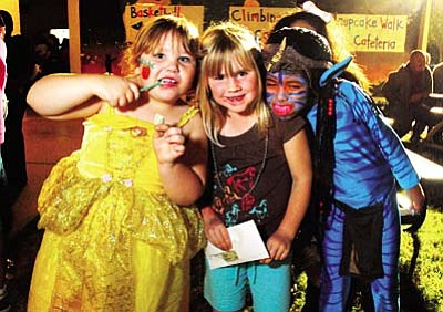 Sedona, Cottonwood and Camp Verde all offer organized Halloween events to entertain youngsters and their parents.