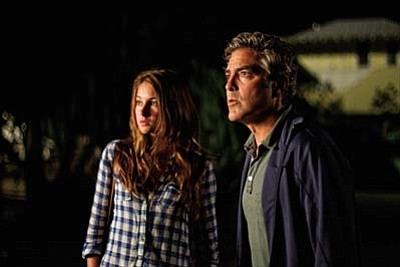 Fox Searchlight Pictures<br /><br /><!-- 1upcrlf2 -->George Clooney and Shailene Woodley star in The Descendants.