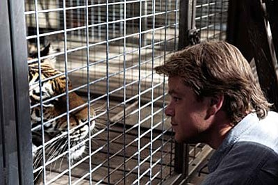 20th Century  Fox<br /><br /><!-- 1upcrlf2 -->Matt Damon meets his new charge in the family film We Bought a Zoo.