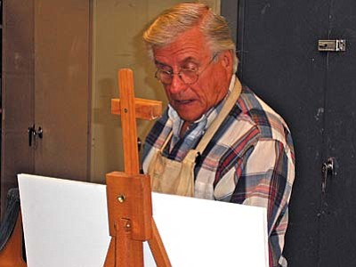 "Led by local artist Harold Ullery, whose personal motto is ""never stop learning,"" the workshop will explore techniques he's found helpful when painting red rocks, mountains, trees, desert waterways and open skies."