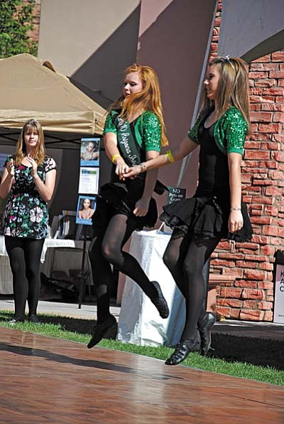 Photo Credit: Bev Copen<br /><br /><!-- 1upcrlf2 -->Sisters and AZ Irish Lass Titleholders Shannon and Colleen Kelahan-Pierson return to Sedona March 3 for special appearances in the St. Patrick's Parade & Festival, Sedona Winds and Mooney's Irish Pub.