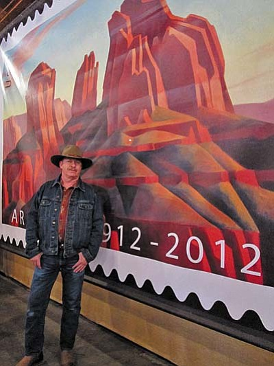 Michael Peach's 'Arizona History & Hi-Jinx' is an official Arizona Centennial event.