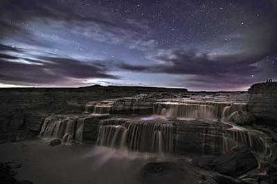 Grand Falls by Starlight, by Shane McDermott
