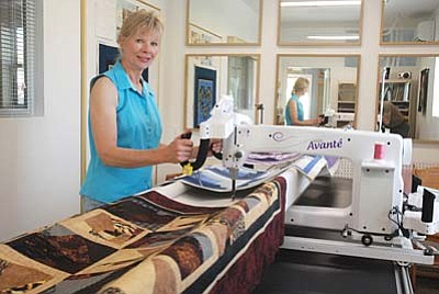 VVN/Steve Ayers<br /><br /><!-- 1upcrlf2 -->Camp Verde quilter Jeannette Teets is seeking the help of local quilters and anyone else interested in reviving the Fort Verde Days quilt show. The popular event ended when it outgrew facilities at the Methodist Church, but this time around it will have an entire gymnasium to fill.