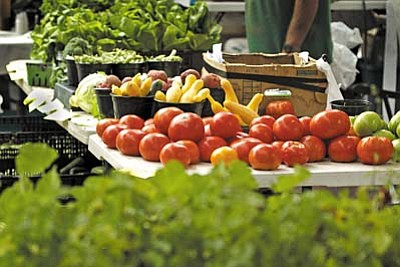 Verde Valley Farmer's Market - Thru 10/6, Saturdays, 8am-noon: The market is back with fresh seasonal produce, all grown within 50 miles of Camp Verde. Ramada, next to Fort Verde State Park, 123 E. Hollamon St., Camp Verde. (928) 634-7077.