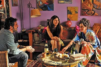 IFC Films<br /><br /><!-- 1upcrlf2 -->Jane Fonda (from right), Catherine Keener and Jeffrey Dean Morgan in Peace, Love, & Misunderstanding.