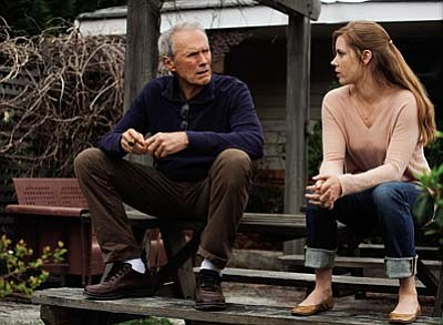 Warner Bros.<br /><br /><!-- 1upcrlf2 -->Clint Eastwood and Amy Adams star in Trouble with the Curve.