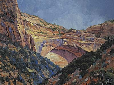 Cody Delong will display new work created in September at The Grand Canyon during first Saturday Jerome Art Walk on Nov. 3..