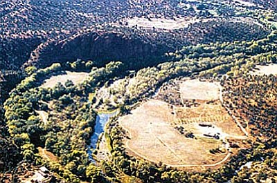 Red Rock State Park in 1991