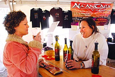 Camp Verde's Pecan & Wine Festival draws thousands to sample Arizona wines, try local pecans, enjoy great music, and pick up some new art or antiques.<br /><br /><!-- 1upcrlf2 -->
