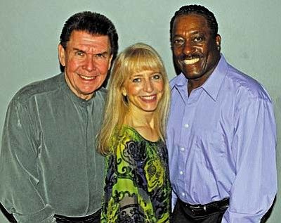 """Courtesy photo<br /><br /><!-- 1upcrlf2 -->Tom & Shondra are joined by Sammy Davis (right) and other for a Good Friday """"Power of Life"""" concert in the Village of Oak Creek."""