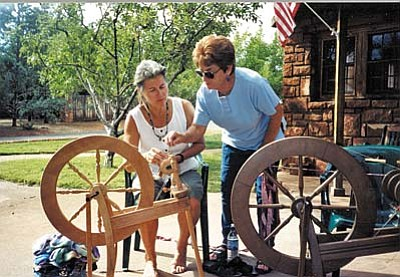 Weavers and Spinners Guild Demo - 4/22, 11 am: Members of the Verde Valley Weavers and Spinners Guild will have their spinning wheels humming for Mondays at the Museum.  The guild today has 40 to 50 members actively pursuing Fiber Arts such as weaving, spinning, basket-making, dyeing and knitting. They would be happy to share their art with you, and to answer any questions you might have. Sedona Heritage Museum, Jordan Historical Park, 735 Jordan Road, Sedona. 928-282-7038, sedonamuseum.org.