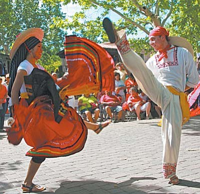 The Ballet Folklorico dance troupe with gifted dancers of all ages depict stories of rural Mexico with traditional dance. Plaza de la Fuente at 11 a.m., 1 p.m., and 3 p.m. Photos by Wib Middleton
