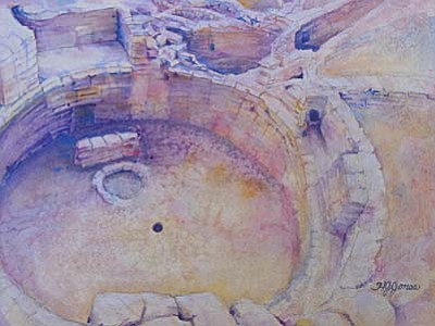 Works by Jeanne Jones are among those featured at Jerona Java Cafe in Cottonwood.