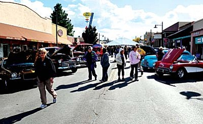 The Old Town Cottonwood Historic District will be blocked to vehicle traffic and wide open to allow for pedestrians, displays and musical acts and lots of folks in the street.