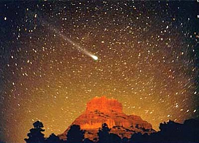 The KSB presentation will feature photographs of comets, fireballs, northern lights and more.  As is true for all cities, population growth and technological progress, especially in lighting, have taken a toll on the natural dark skies of Sedona.